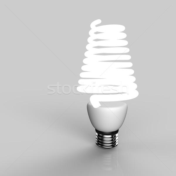 Energy saving light bulb Stock photo © Bratovanov