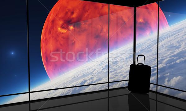 аннотация видение пространстве путешествия графических не Сток-фото © Bratovanov