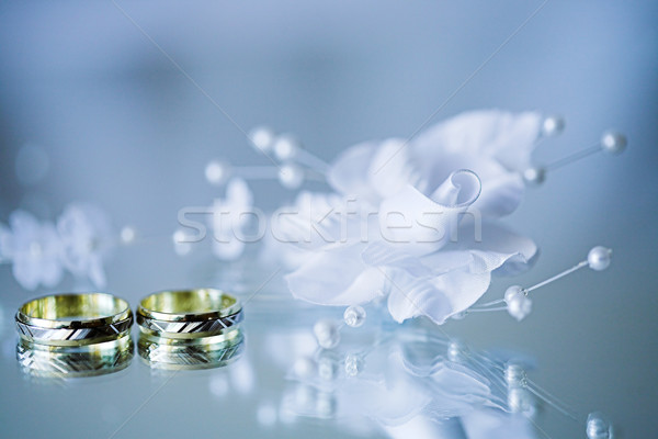wedding rings  Stock photo © brebca