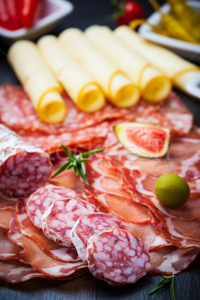 Antipasti and catering platter  Stock photo © brebca