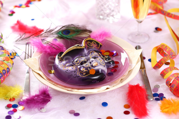 Carnival and party place setting Stock photo © brebca