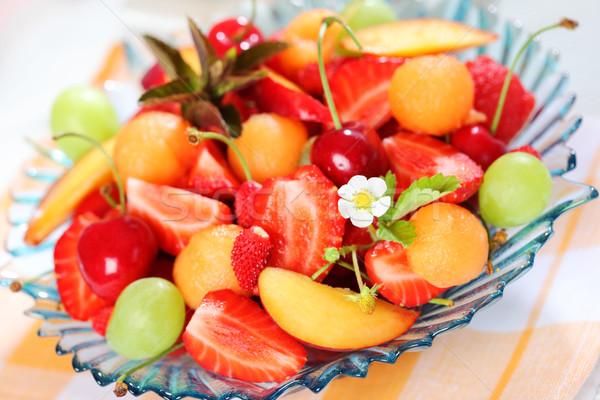 Fresh summer fruits Stock photo © brebca