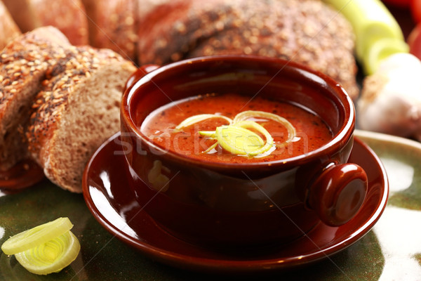 Goulash soup Stock photo © brebca