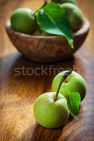 Non-GMO apples Stock photo © brebca