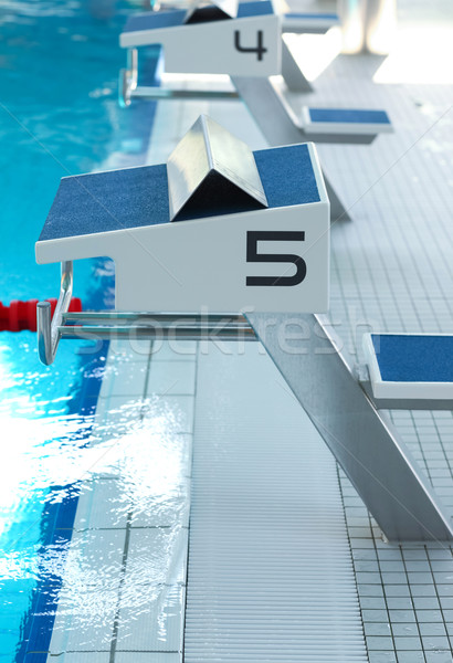 Swimming pool Stock photo © brebca