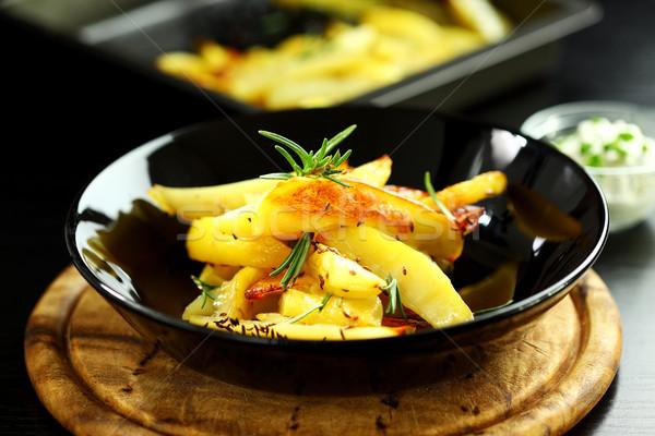 チーズ ディップ ローズマリー 食品 ストックフォト © brebca