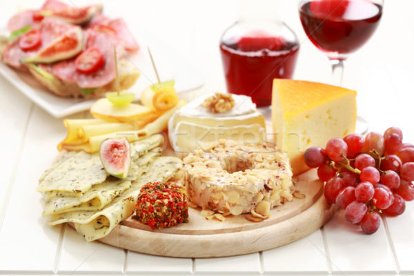 Catering cheese platter Stock photo © brebca
