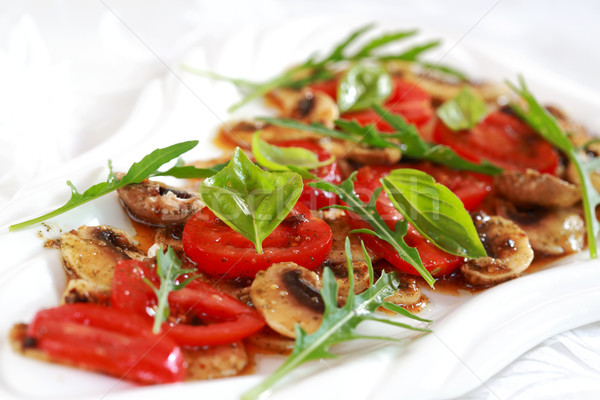 Champignon Carpaccio Stock photo © brebca