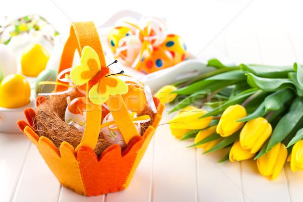 Easter still life Stock photo © brebca
