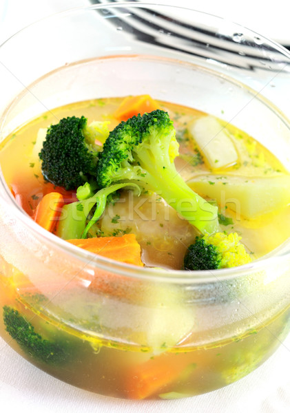 Vegetable soup Stock photo © brebca
