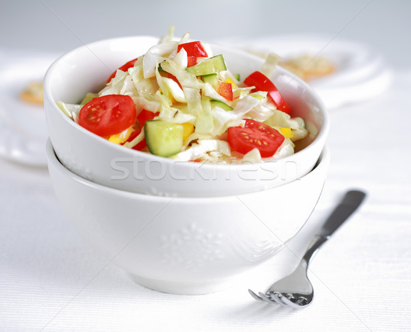 Healthy cabbage salat - fatburner Stock photo © brebca