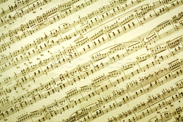 Music notes background Stock photo © brebca