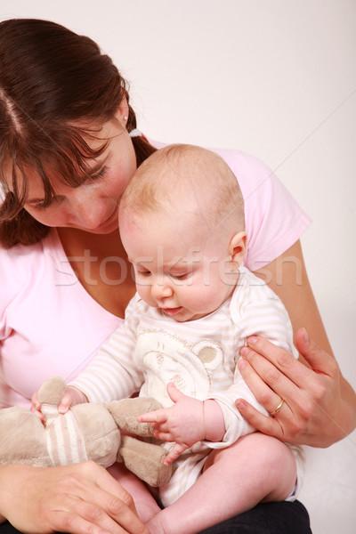 Zdjęcia stock: Rodziny · matka · cute · baby