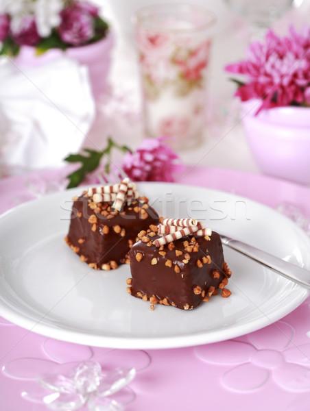 Brownies Stock photo © brebca