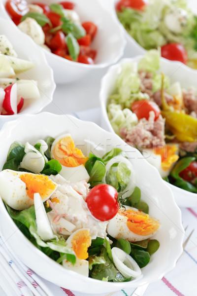 Küçük düşük kalori yeme gıda balık Stok fotoğraf © brebca