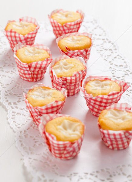 Lemon cupcakes Stock photo © brebca