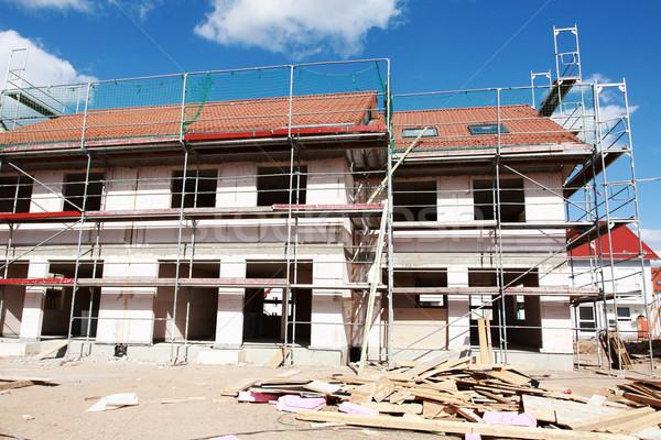 Construção novo família casa casa Foto stock © brebca