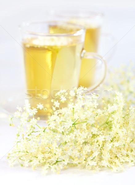 Elder flower tea Stock photo © brebca