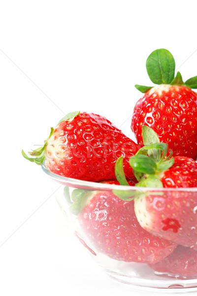 Strawberries Stock photo © brebca