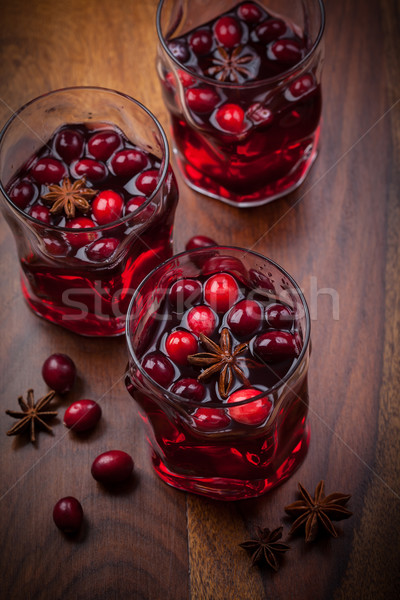 Hot punch for winter and Christmas Stock photo © brebca