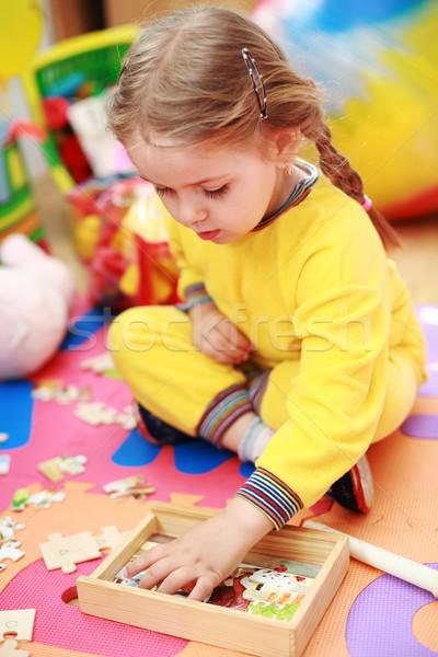 Cute child playing  Stock photo © brebca