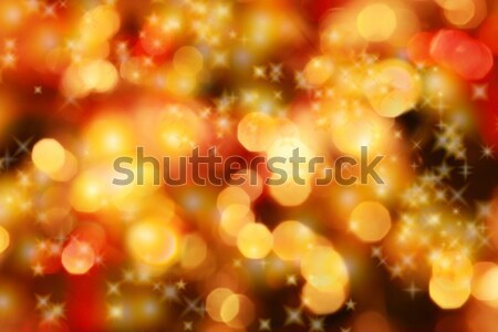 Natale luci abstract stelle design sfondo Foto d'archivio © brebca