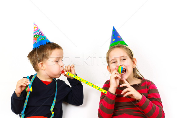 Carnival kids have a fun Stock photo © brebca
