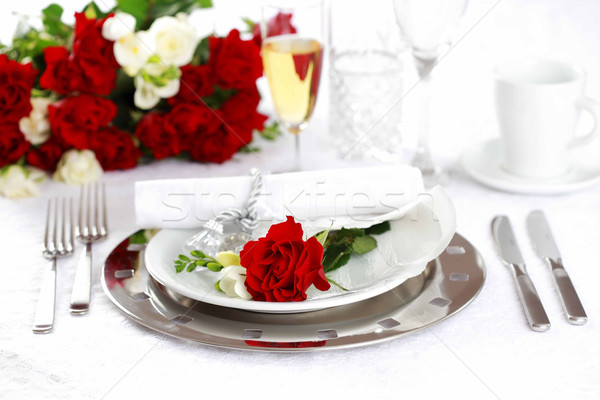 Luogo tavola wedding san valentino altro Foto d'archivio © brebca