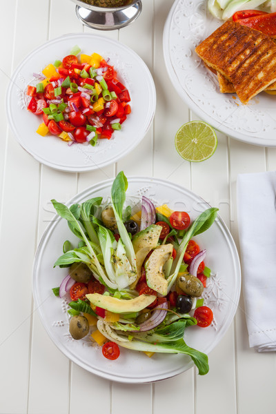 Pak choi salad Stock photo © brebca