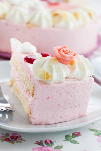 Cream cake Stock photo © brebca