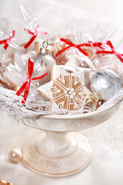 Gingerbread gifts for guests Stock photo © brebca