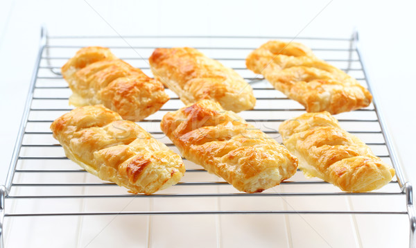Stock photo: Delicious apple turnovers