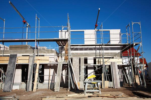 Costruzione nuovo famiglia casa home Foto d'archivio © brebca