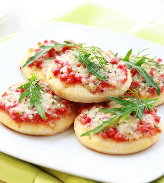 Piccolo dolci antipasto prosciutto formaggio alimentare Foto d'archivio © brebca