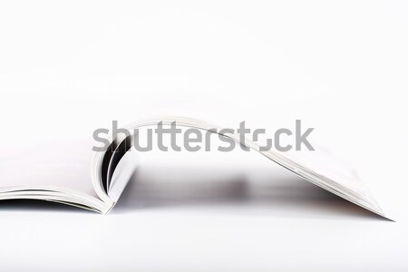 Open magazine Stock photo © brebca