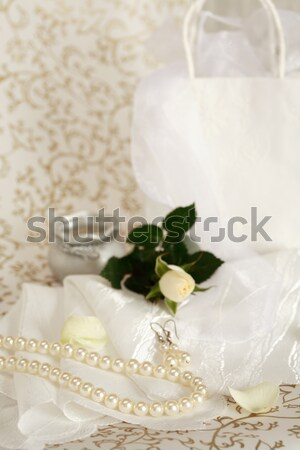 Stock photo: Wedding still life