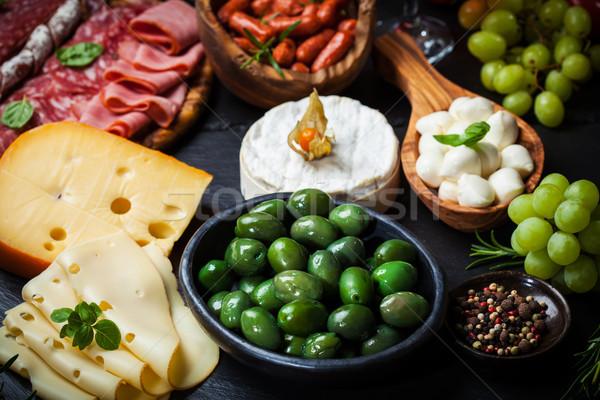 Antipasto and catering platter  Stock photo © brebca