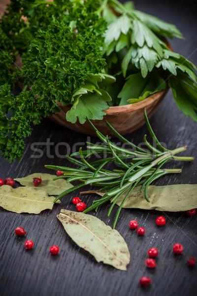 Fresh herbs Stock photo © brebca