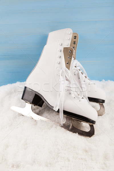 Ice skates Stock photo © brebca