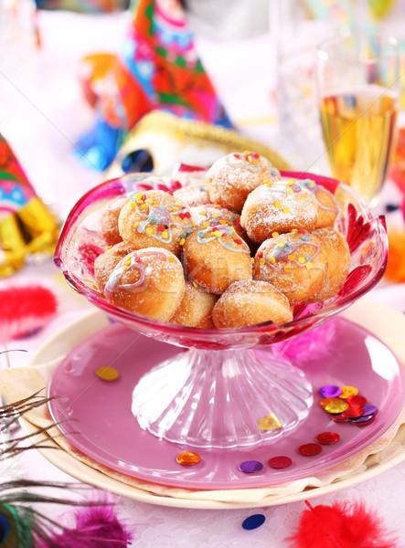 Carnaval plaats partij klein donut Stockfoto © brebca