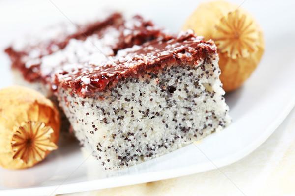 Poppy cake Stock photo © brebca