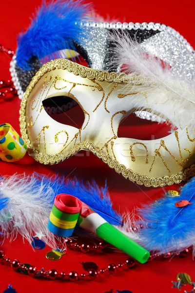 Carnival detail with mask  Stock photo © brebca