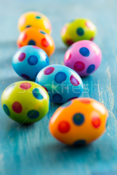 Colorful Easter eggs  Stock photo © brebca