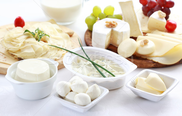 Dairy products Stock photo © brebca