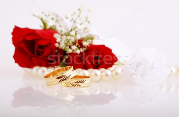 Wedding still life Stock photo © brebca