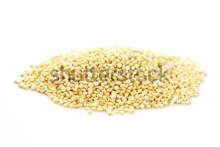 Quinoa on white background Stock photo © brebca