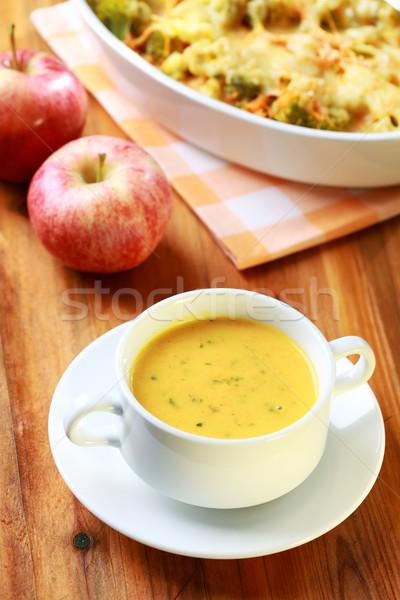 Carrot soup  Stock photo © brebca