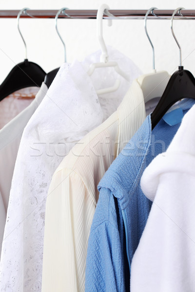 Hanging clothes Stock photo © brebca