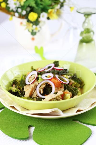Savoy cabbage stew Stock photo © brebca