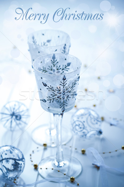 Stock photo: Christmas candles